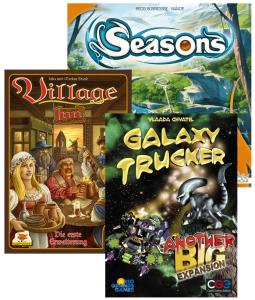 Seasons, Village e Galaxy Trucker: nuove espansioni all'orizzonte