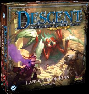 Descent 2a Edizione: Labyrinth of Ruin ci porta oltre i confini di Terrinoth