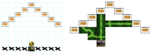 Ready to Rock - Immagini del manuale con setup e esempio gioco