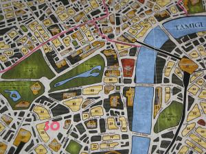 Sherlock Holmes - Dettaglio mappa