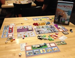 Nations The Dice Games - Componenti -- fonte: bgg