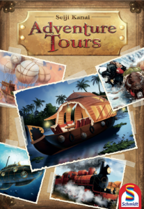 Adventure Tours - fonte: bgg