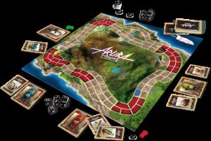 Aruba Battle Race - Esempio gioco - fonte: bgg
