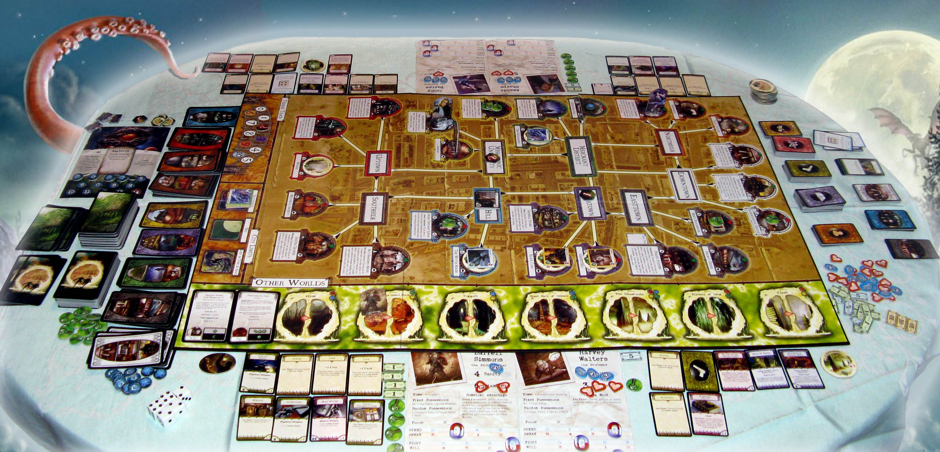 Five board games you can play by yourself 5 arkham horror solutioingenieria Gallery