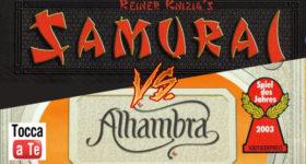 Alhambra vs Samurai, il videotutorial