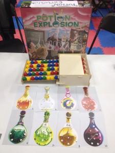 Potion Explosion - Componenti - fonte: bgg