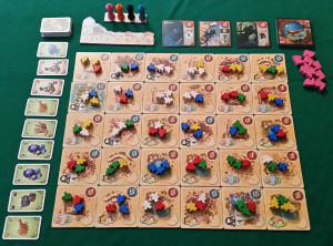 Five Tribes - Setup
