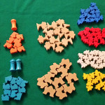 Five Tribes - Elementi in legno