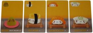 Sushi Go - Nigiri e budino - fonte: bgg