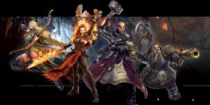 Warhammer Quest personaggi
