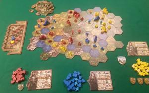 Barony - Esempio di gioco