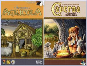 Sfide possibili #2: Agricola vs Caverna