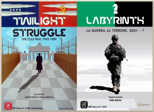 Sfide possibili #1: Twilight Struggle vs Labyrinth