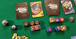 Justice League Hero Dice - Dettaglio gioco