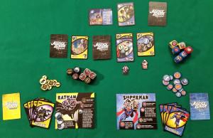 Justice League Hero Dice - Esempio di gioco