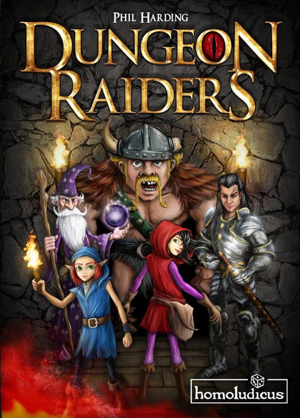 Dungeon Raiders - fonte: bgg