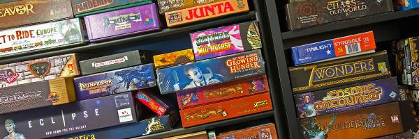 German o American? giochi in scatola misti