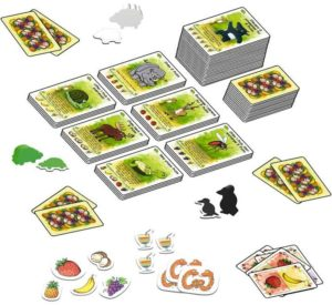 Fabled Fruit - Setup - fonte: bgg