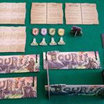 Touria - Componenti giocatore