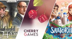 Cherry Games #7: Santorini + Holmes: Sherlock & Mycroft
