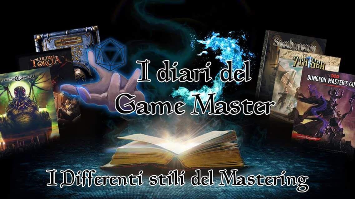 I diari del Game Master #01
