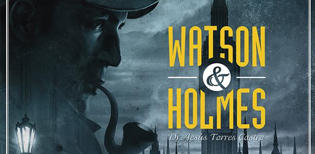 Anteprima Sherlock Holmes: Watson & Holmes, gioco da tavolo