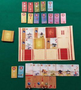 Kanagawa - Esempio di gioco
