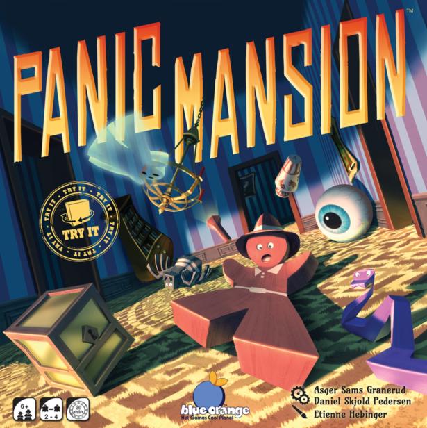 Panic Mansion - fonte: bgg