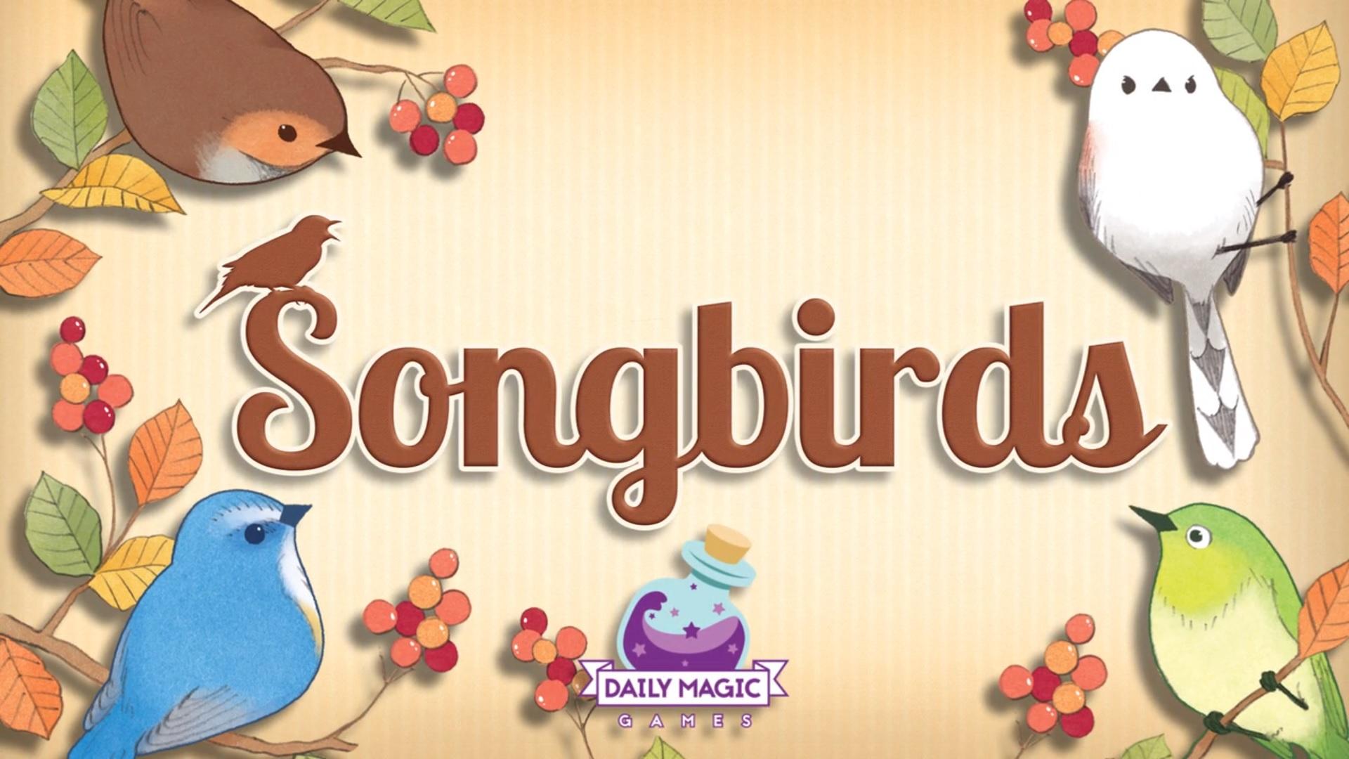 The loud bird gets the worm… Songbirds!