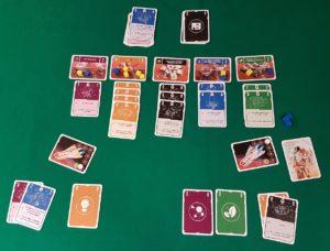 Pocket Mars - Fine partita (23 a 15 punti per il giallo)