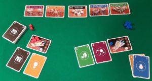 Pocket Mars - Set up partita in solitario
