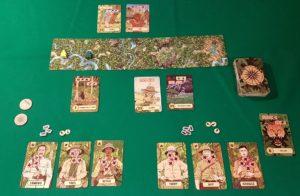The Lost Expedition - Esempio gioco competititvo