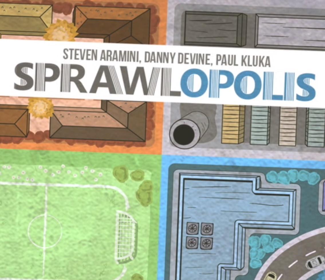 Sprawlopolis – Una città in 18 carte
