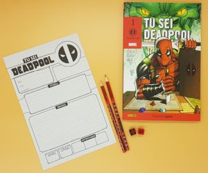 Tu sei Deadpool - Componenti