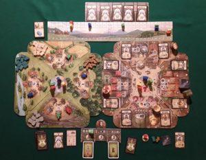 Crown of Emara - Esempio di gioco