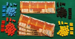 Coimbra - Componenti giocatori