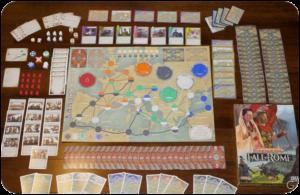 I migliori giochi da tavolo per conquistare una donna, Pandemia la Caduta di Roma