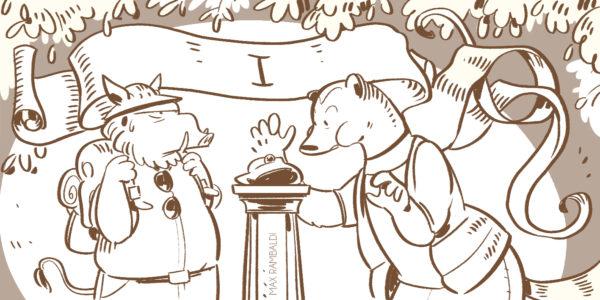 vignetta di esplorazione e caccia delle bacche di Everdell