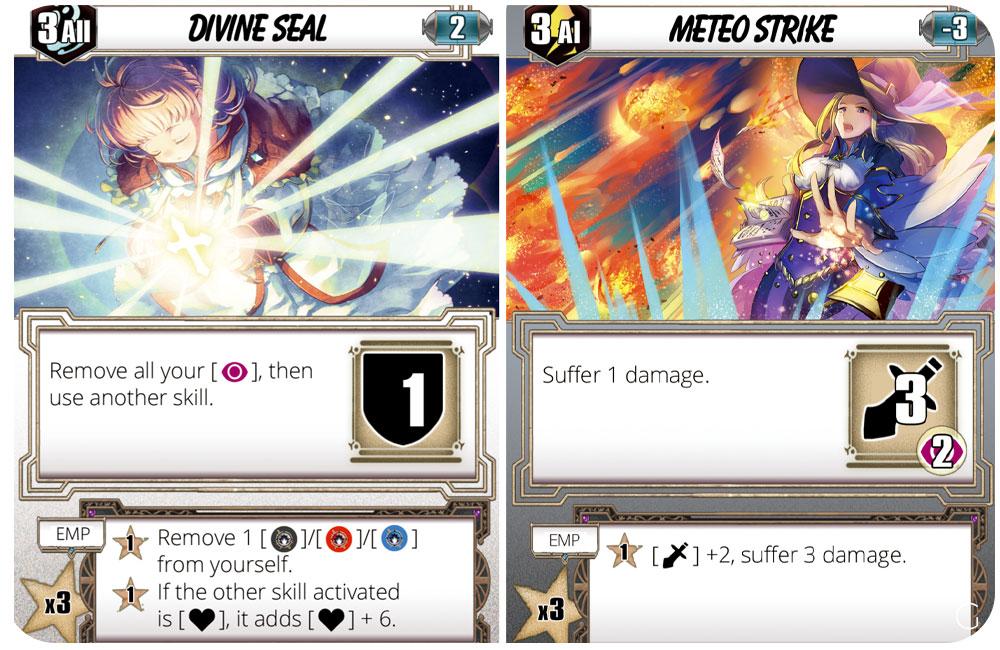 Testament - due carte del gioco