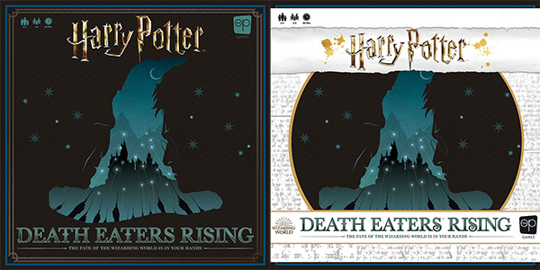 Copertina di Harry Potter Death Eaters Rising
