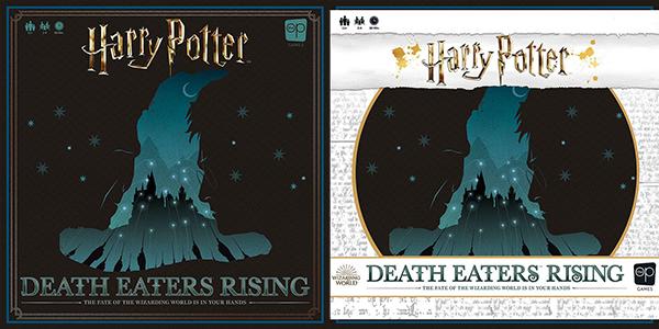 Copertina di Harry Potter Death Eaters Rising
