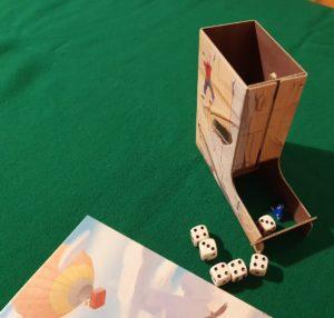 Roll&Wall - Dettaglio torre lancia dadi