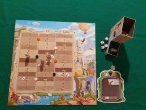Roll&Wall - Esempio di gioco