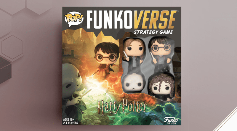 FunkoVerse: Harry Potter 100, cover del gioco