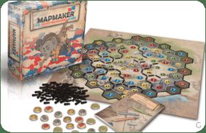 Gerrymandering game scatola e componenti