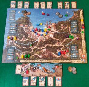 Valparaiso - Esempio partita