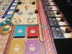 Carovana, carte scoperta e mercato