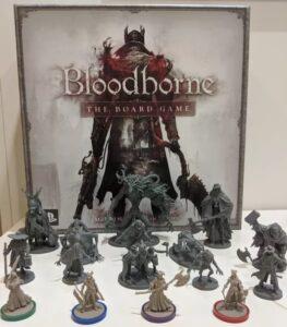 Bloodborne - Componenti - fonte: sito boardgamegeek