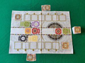 Mandala - Esempio di gioco 1