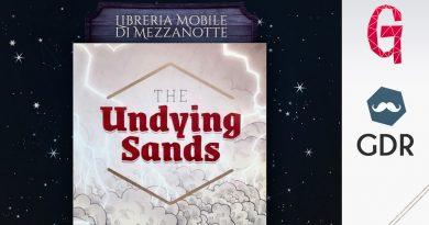 Undying Sands: Hexcrawl tra le Dune | La libreria mobile di mezzanotte #21
